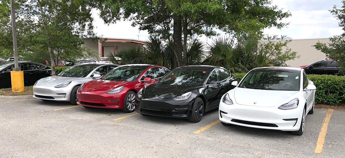 Tesla Model 3 ready for deliveries
