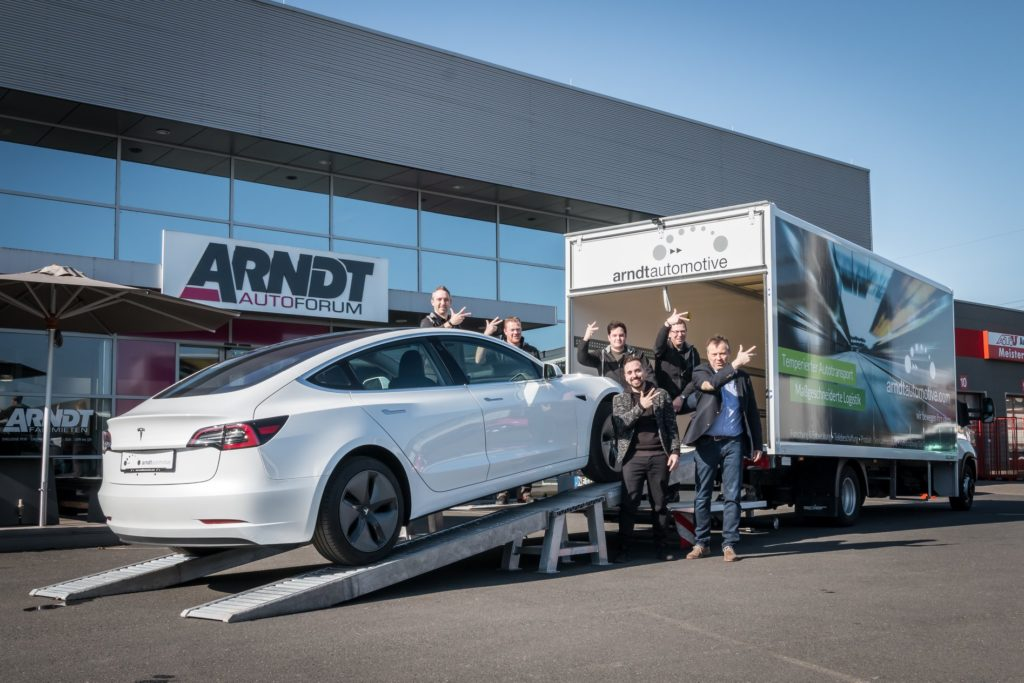 Tesla Model 3 in Germany by Arndt Automotive GmbH