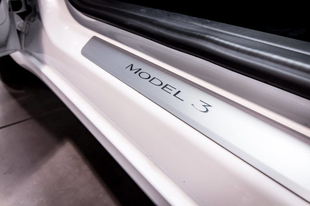Tesla Model 3 in Germany by Arndt Automotive GmbH - Door Sill