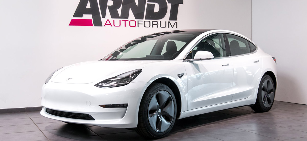 Rent a Tesla Model 3 in Germany