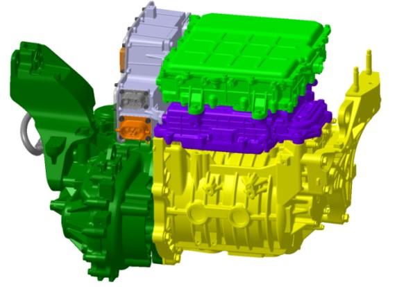 Kona Electric Motor Drive System