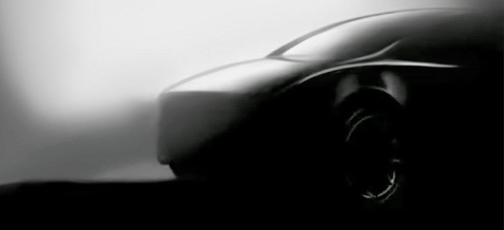 Tesla Model Y new teaser image released.