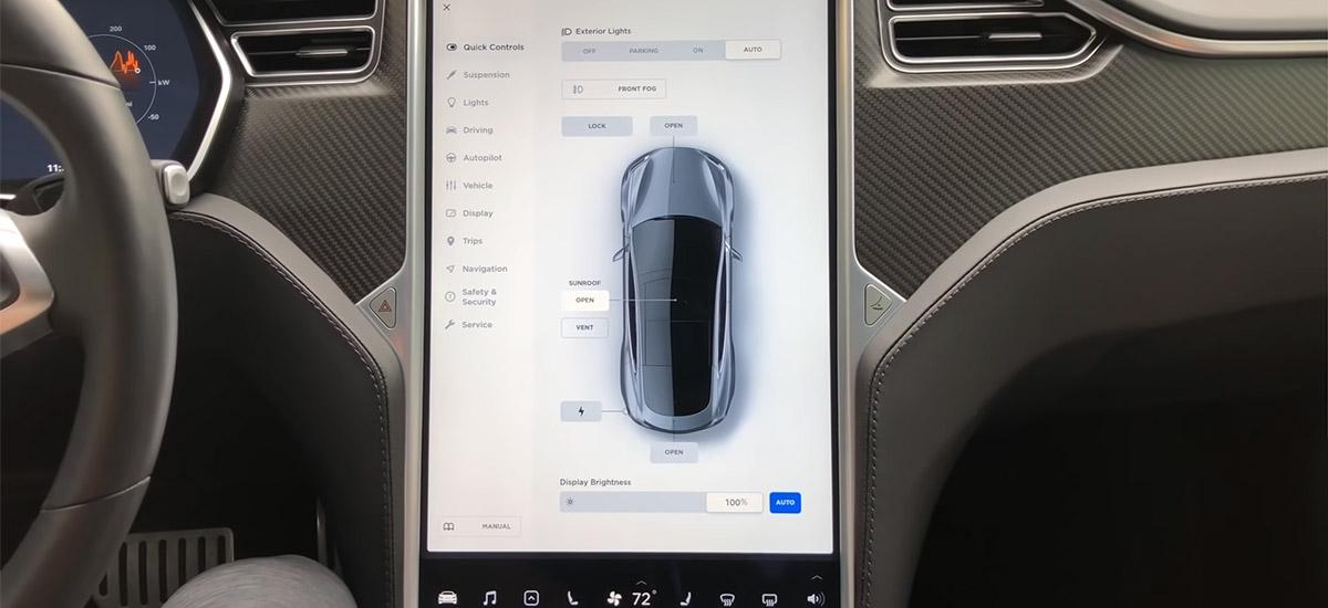 Tesla Model S V9 Software Update Details