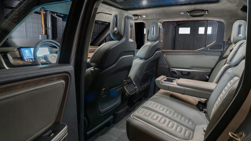Rivian R1T Interior Space