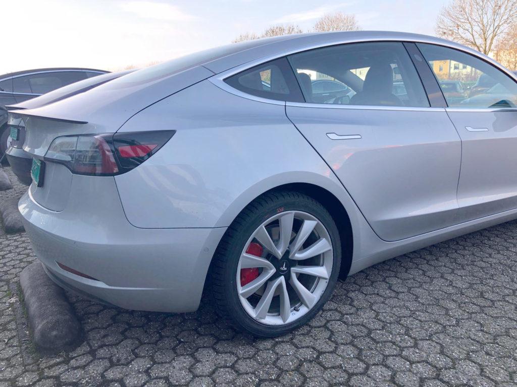 Tesla Model 3 spotted in Netherlands