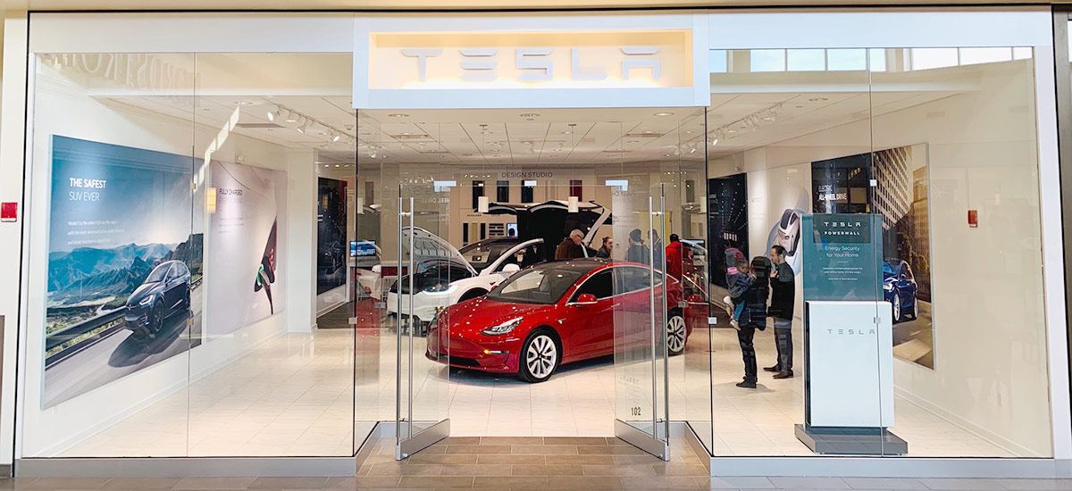 11 new Tesla stores opening
