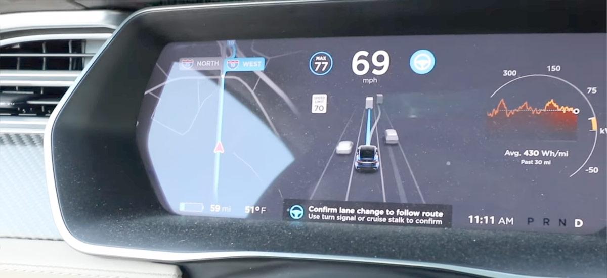 Navigate On Autopilot - Lane Change Confirmation