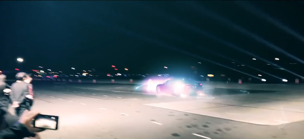 Tesla Roadster going Back To The Future