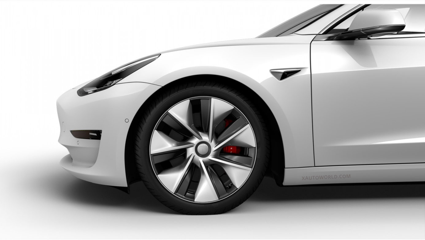Tesla Model 3 Performance 'Power Sports Aero Wheels' in China