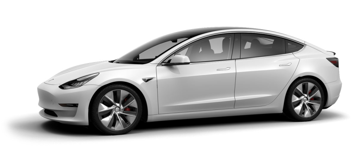 Tesla Model 3 Configurator China and Europe