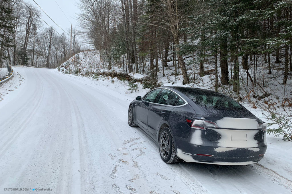Tesla Model 3 Performance on its way for the snow rally