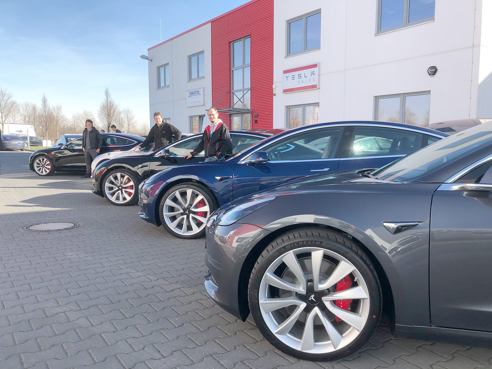 Germany's top car rental company buys 100 Tesla Model 3 EVs