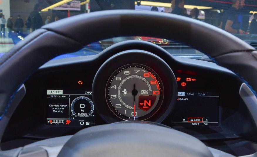 2016 Ferrari 488 Spider Interior Dials