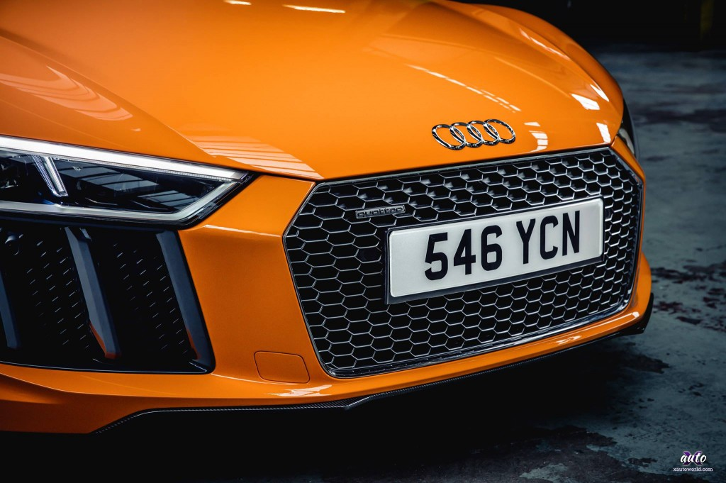 2017 Audi R8 Front Grill