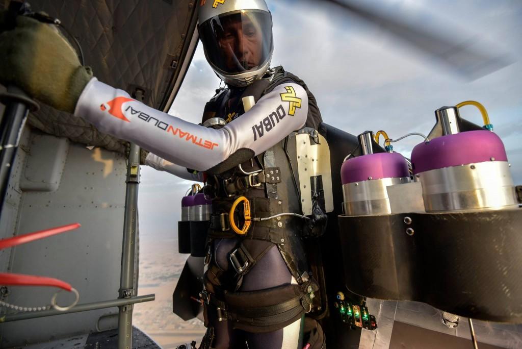 Jetman Ready to Jump