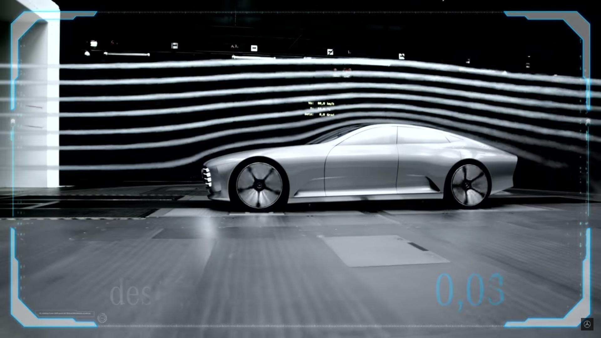 IAA Concept Car Sideview Aerodynamic Demonstration