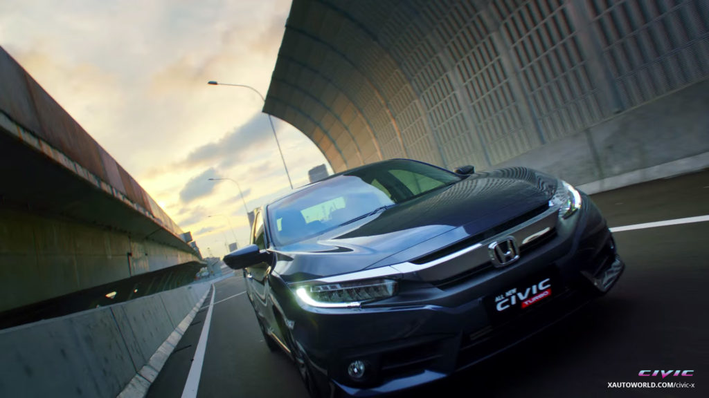 2016 Civic Turbo Racing Front View
