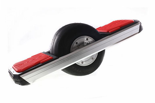 One Wheel Hoverboard in Red by Trotter
