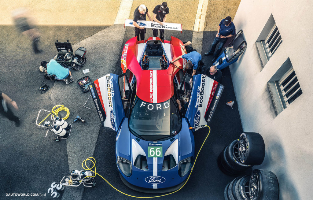 2017 Ford GT Ready For Le Mans