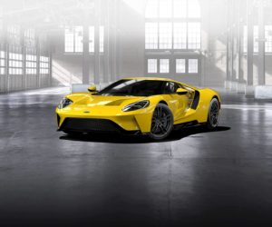 2017 Ford GT - Triple Yellow