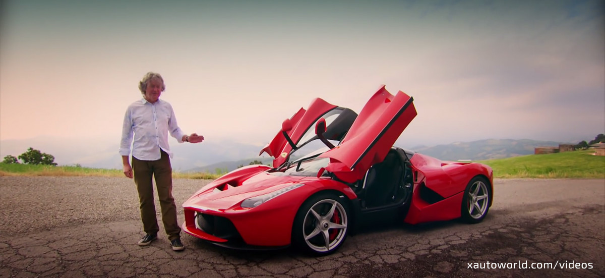 LaFerrari Top Gear Review - James May