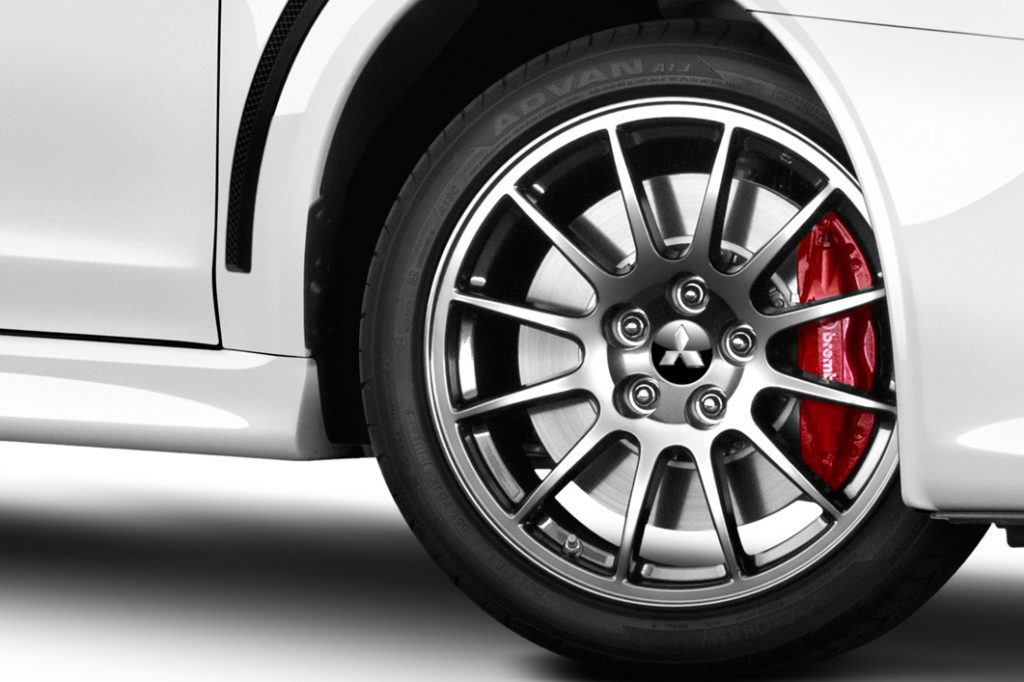 Lancer Evolution Tyres & Wheels