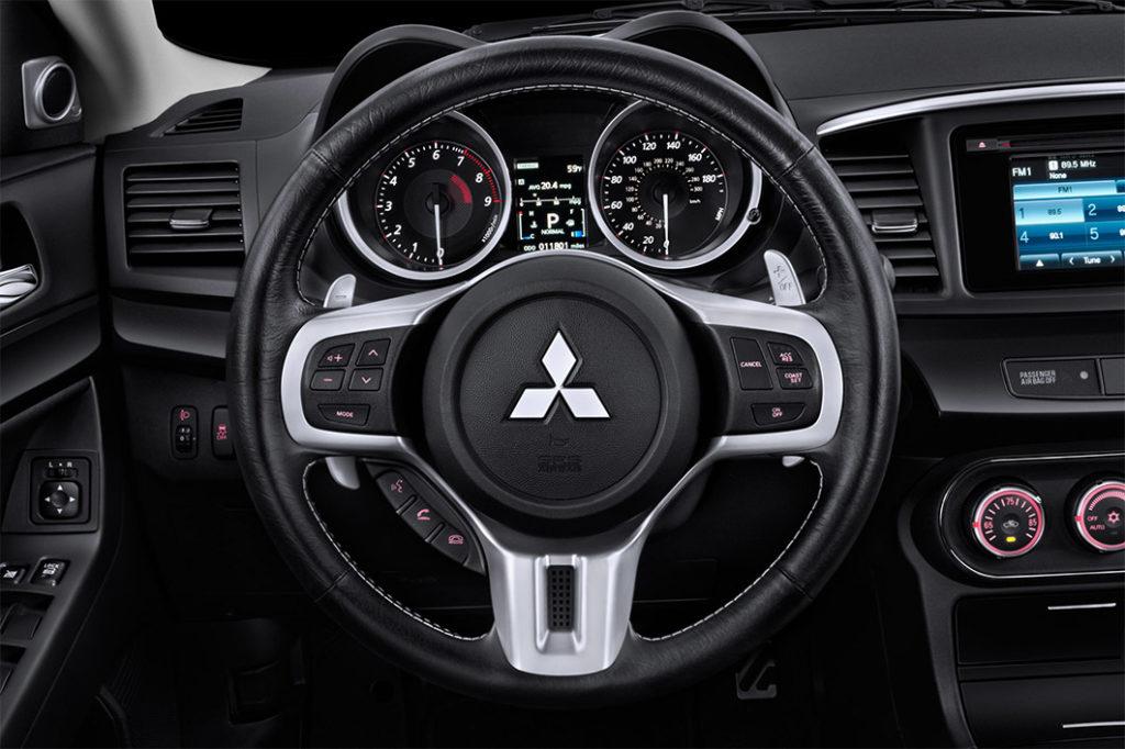 2015 Lancer Evolution Steering and Dash