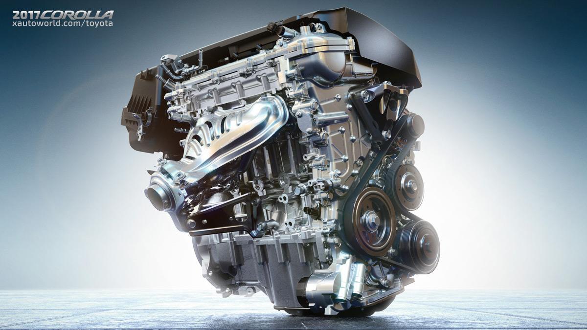 2017 Toyota Corolla Engine