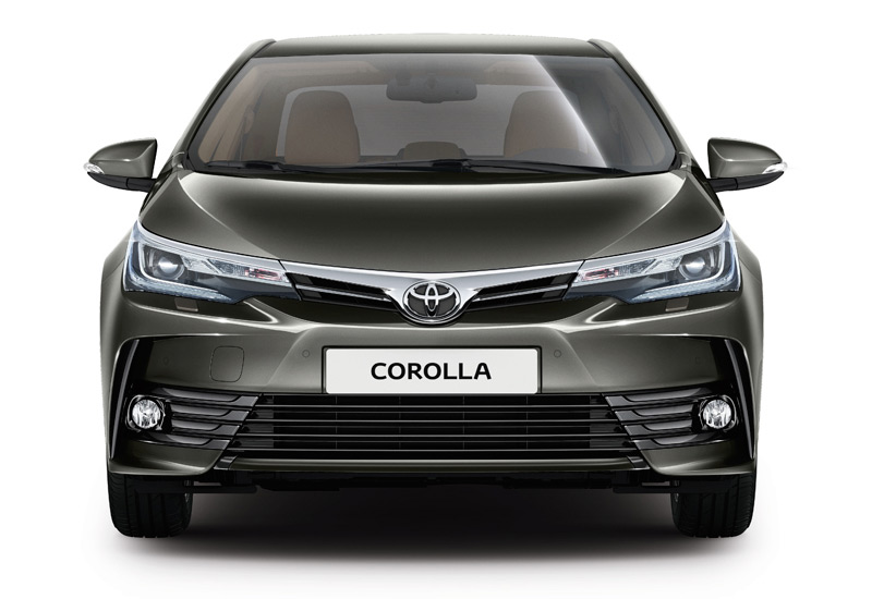2017 Toyota Corolla - Front View