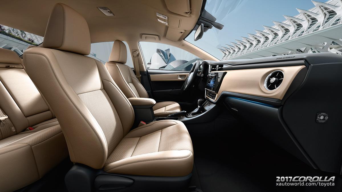 2017 Toyota Corolla Interior - Front Seats