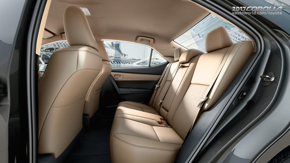 2017 Toyota Corolla Interior - Rear Seats