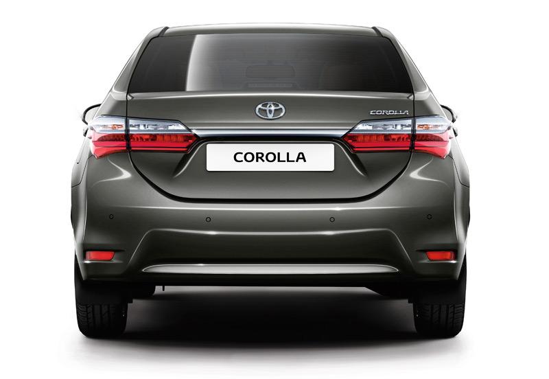 2017 Toyota Corolla - Rear View