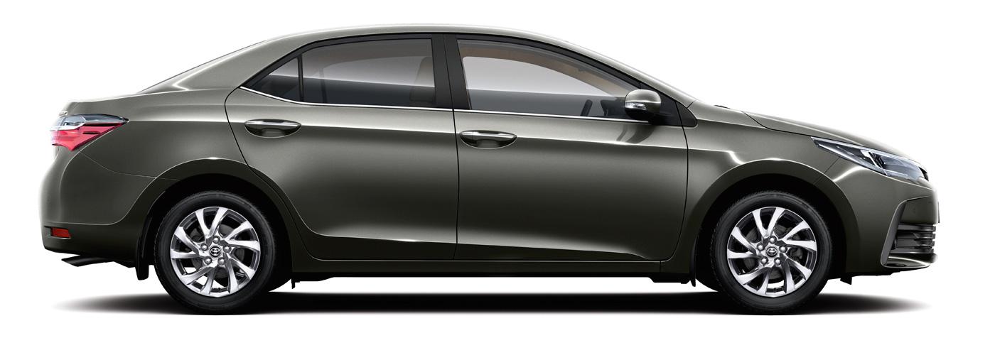 2017 Toyota Corolla - Side View