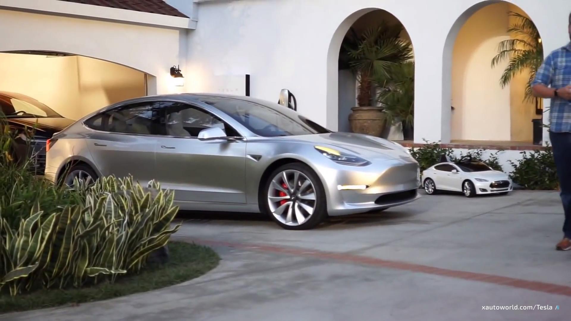Exclusive Model 3 HD Photos & Video from Tesla Powerwall 2 ...