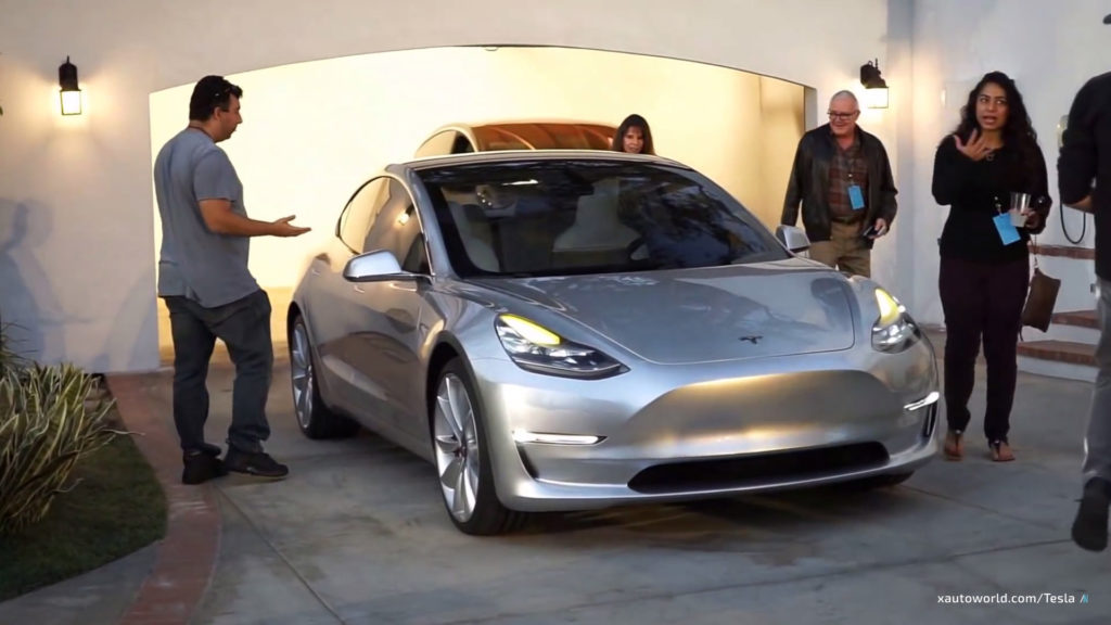 Exclusive Model 3 HD Photos - Front View 2