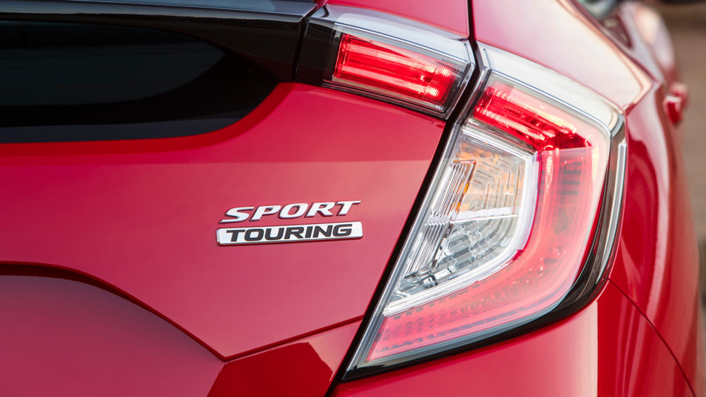 2017 Honda Civic Hatchback Sport Touring Badge