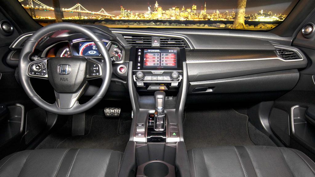2017 Honda Civic Hatchback Instrument Cluster