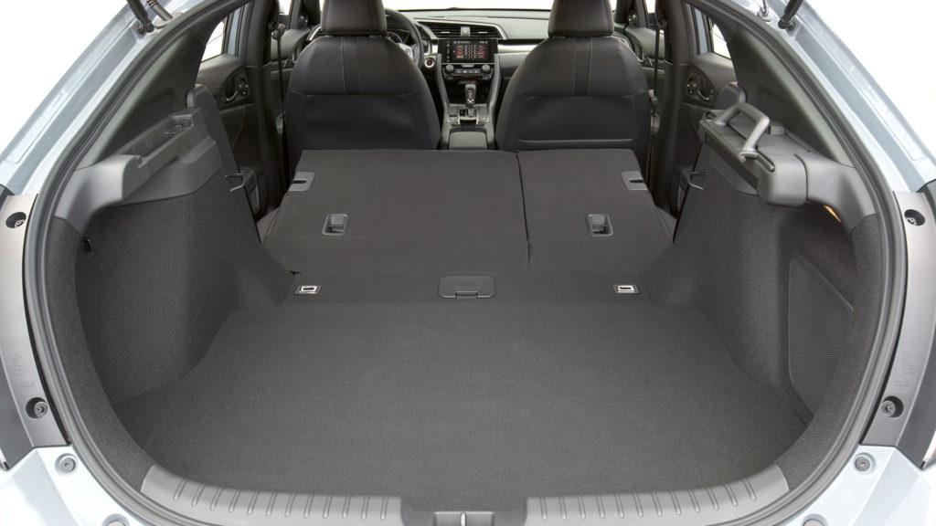 2017 Honda Civic Hatchback - Boot Space