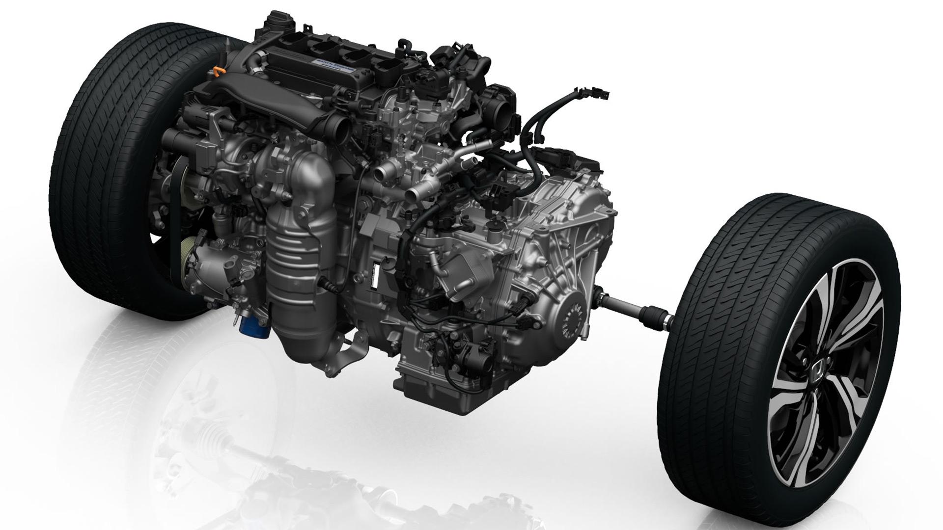 2017 Civic 1.5 Ltr Turbo Engine & CVT Powertrain