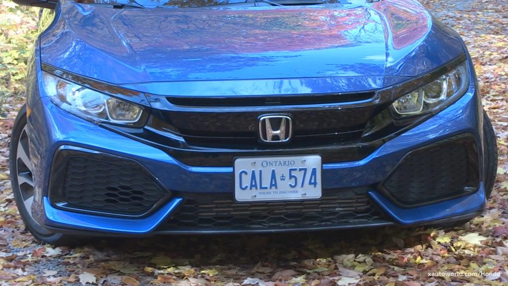 2017 Honda Civic Hatchback LX/EX-L Front View
