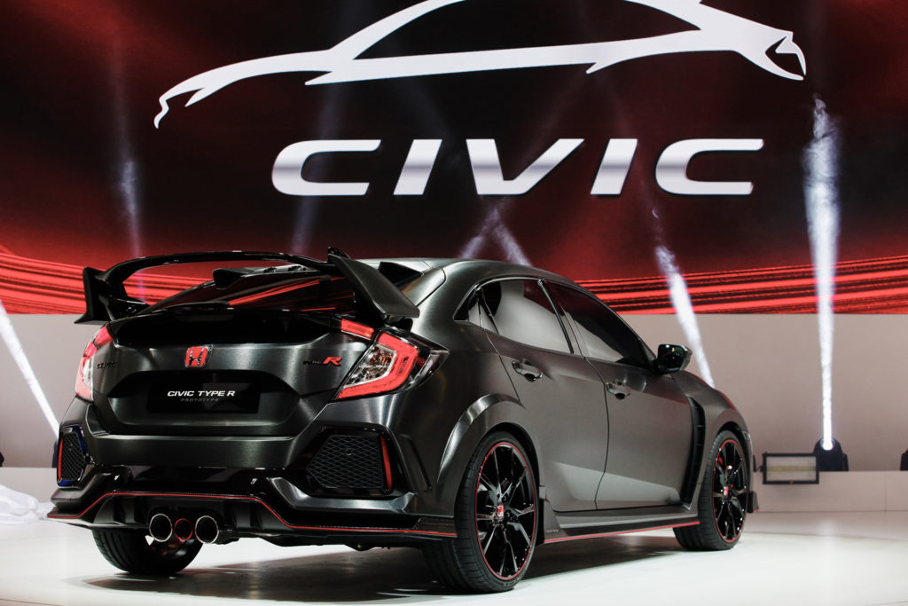 2017 Civic Type-R - Rear View