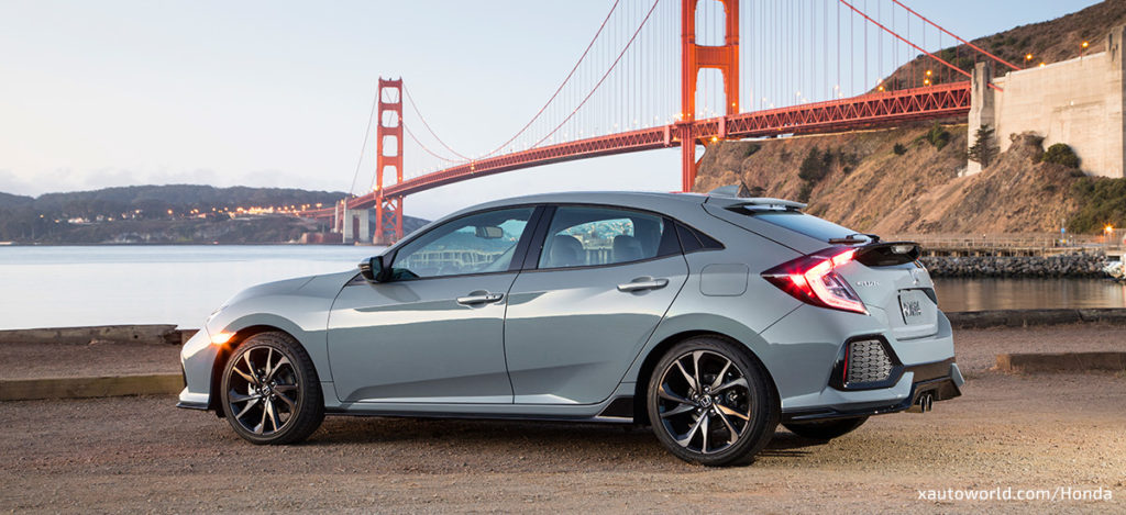 2017 Honda Civic Hatchback Sport Touring