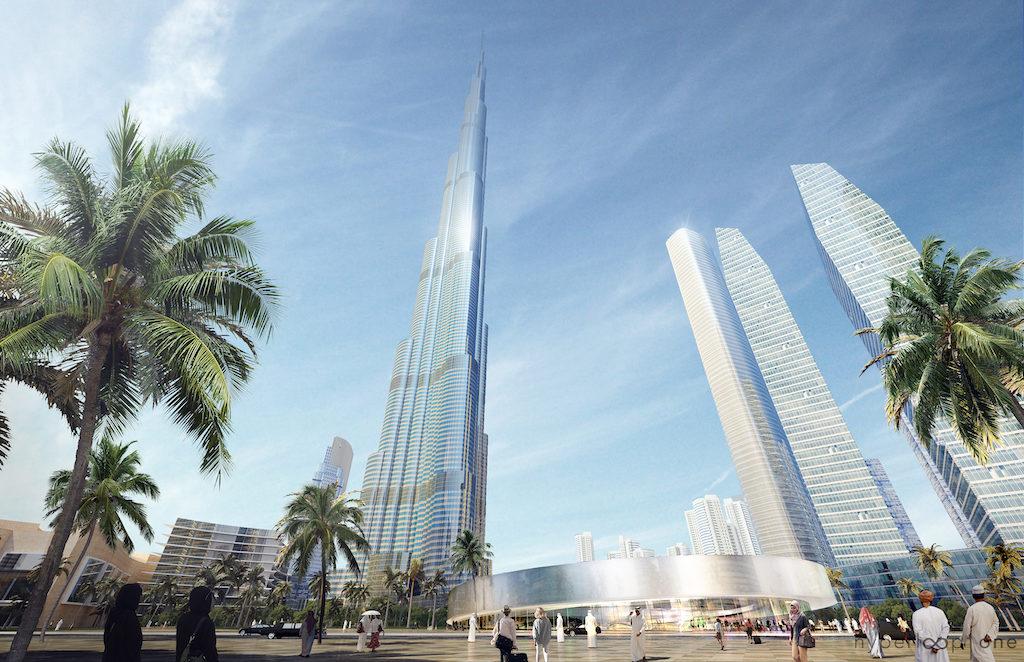 Burj Khalifa Hyperportal, View towards Main Entrance, Dubai