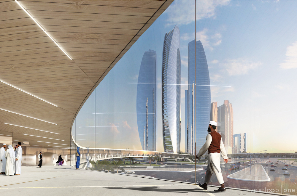Etihad Towers Hyperportal, Interior View, Abu Dhabi
