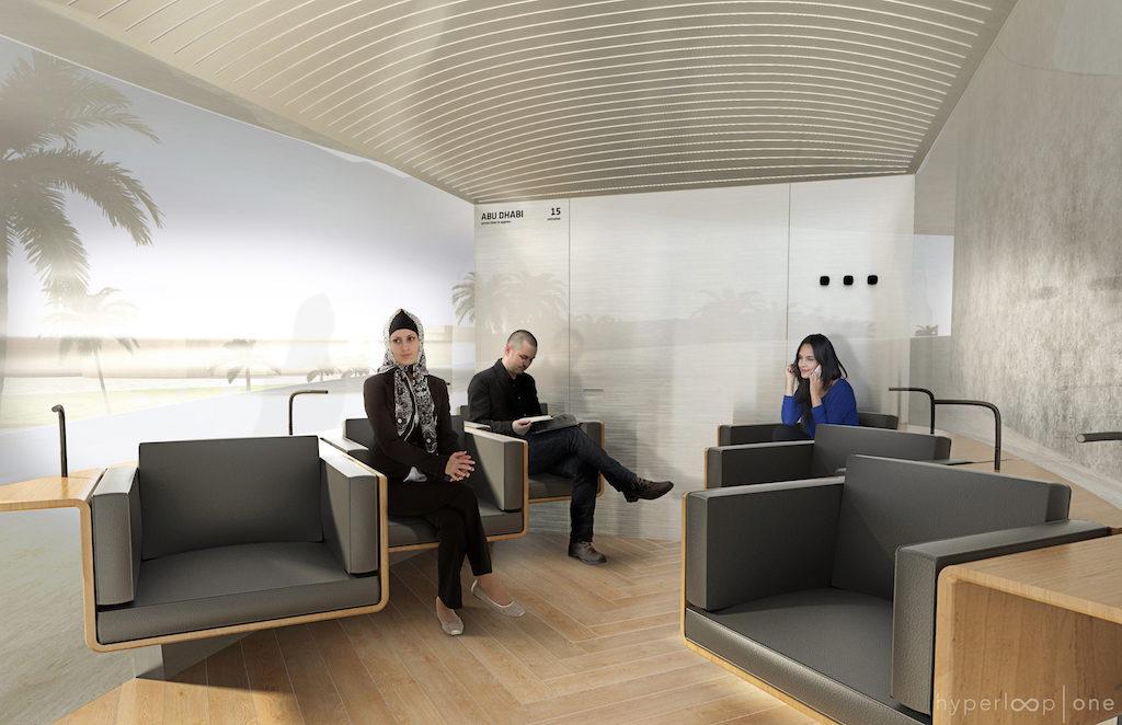 Hyperpod Interior, Lounge Option