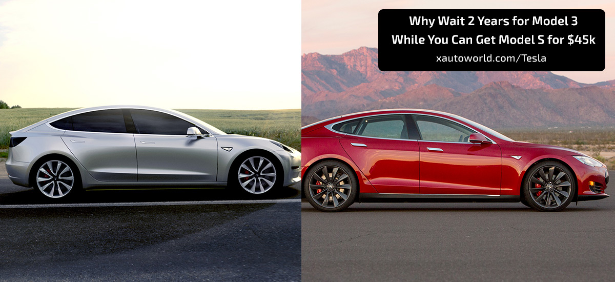 Leave Model 3 Get Model S for $45,000
