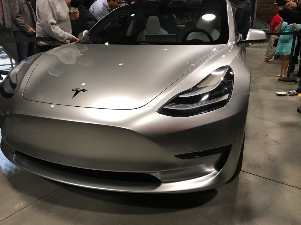 Tesla Model 3 Glassroof Interior Front 2