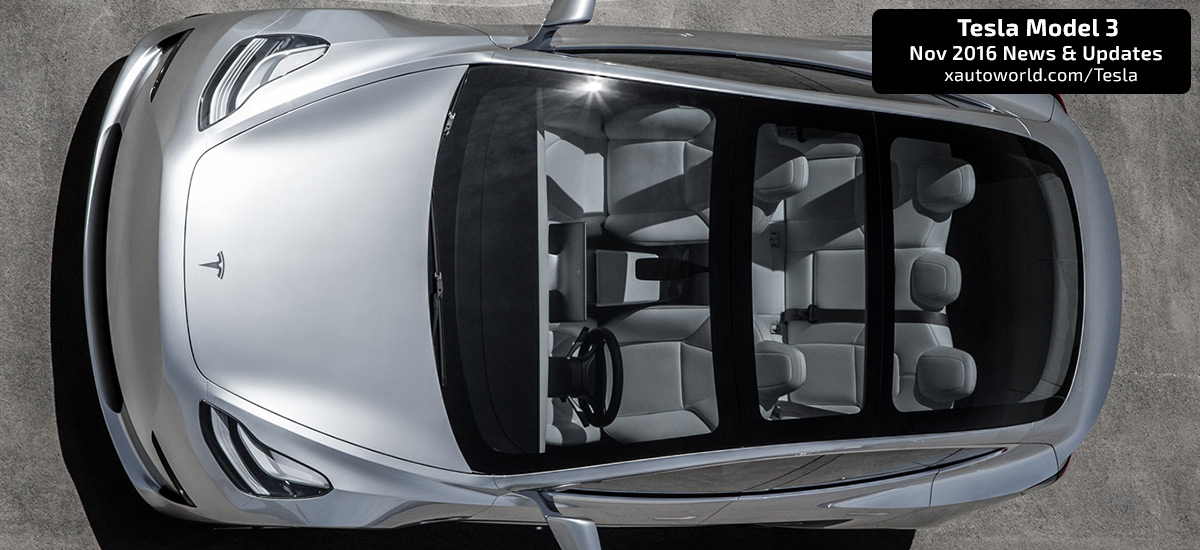 Tesla Model 3 Will Have A Solar Charging Roof More