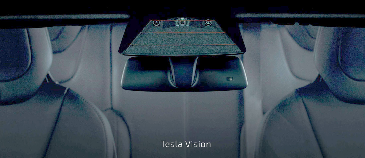 Tesla Vision - Forward Cameras