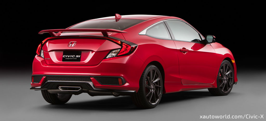 2017 Civic Si Unveiled in USA